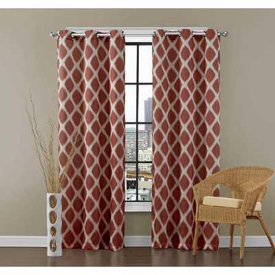 East Drive Curtain Panels Pairby Varick Gallery - Wayfair
