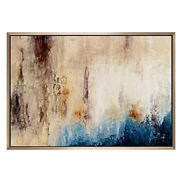 That Is Me - Original Art- 60''W x 1.5''D x 40''H- Framed - Z Gallerie