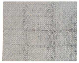 10'x8' Aruna Rug, Blu - One Kings Lane