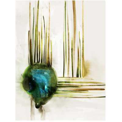 "Emerald Flow-30"" x 40"" -Unframed - High Fashion Home"