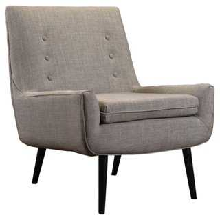 Martana Tufted Accent Chair - One Kings Lane