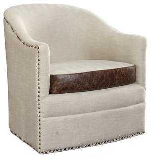 Madison Swivel Chair - One Kings Lane