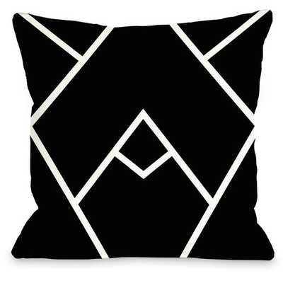 Mountain Peak Throw Pillow - AllModern