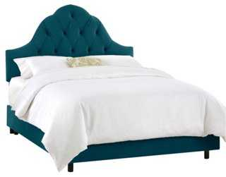 Lulu Tufted Arched Bed - One Kings Lane