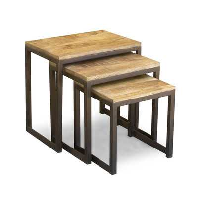 3 Piece Nesting Tables - Wayfair