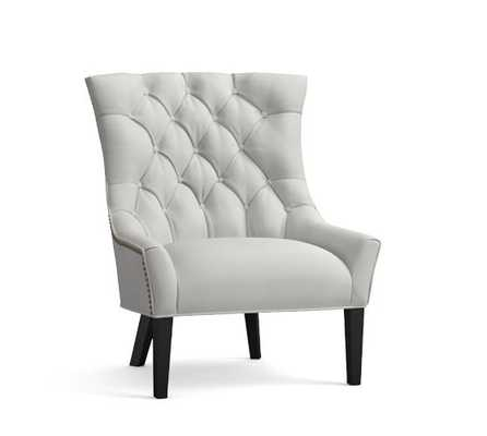 HAYES TUFTED UPHOLSTERED ARMCHAIR - Pottery Barn