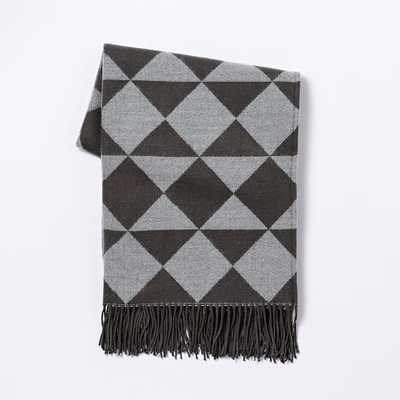 Warmest Throw - Triangle Jacquard - West Elm