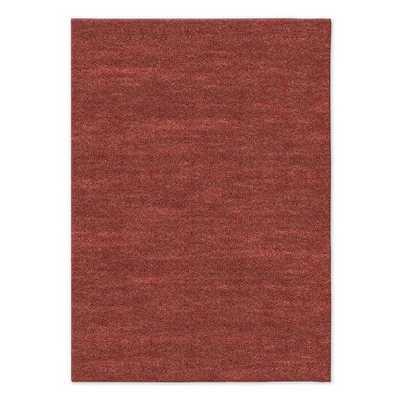 Watercolor Solid Rug - Special Order - 10' x 14' - Rust - West Elm