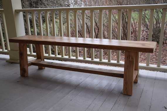 Reclaimed Wood Bench, Entryway Bench - Etsy