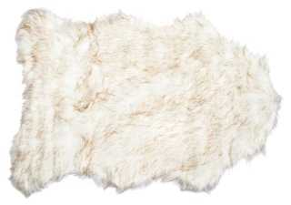 Gordon Faux-Sheepskin Rug - One Kings Lane