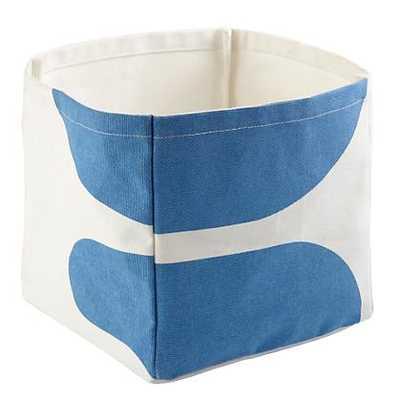 Blue Color Pop Cube Bin - Land of Nod