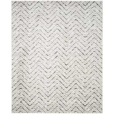 Safavieh Adirondack Ivory/ Charcoal Rug - Overstock