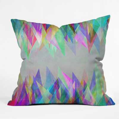 """GRAPHIC 106 X Throw Pillow - 18"""" x 18"""" with insert - Wander Print Co."""