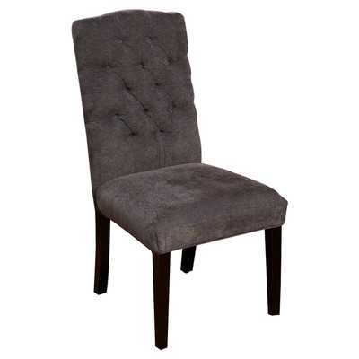 Carrize Crown Top Fabric Dining Chairby Home Loft Concepts - Wayfair