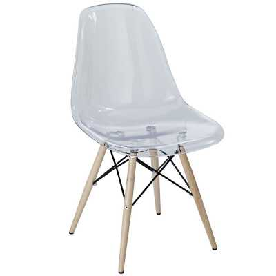 Rinaldi Side Chair - Clear - Apt2B