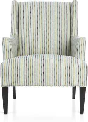 Patrice Chair - Caribe - Crate and Barrel