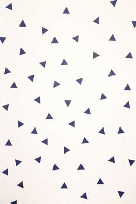 Walls Need Love Triangle Decal Set - Blue Multi - Urban Outfitters
