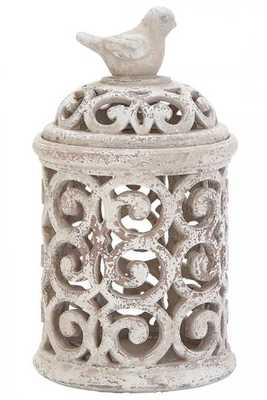 ALVA PIERCED JAR - Home Decorators