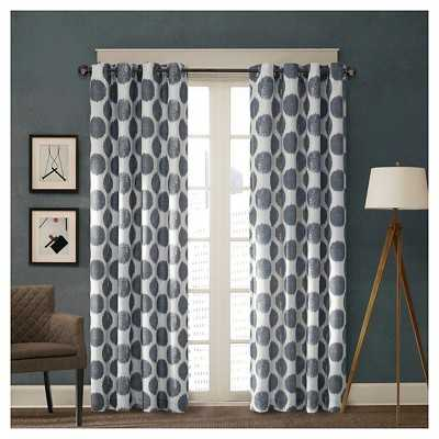 Roku Printed Dot Curtain Panel - Target