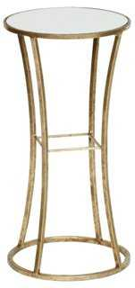 Chandler Side Table, Gold - One Kings Lane