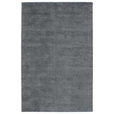 Solid Chic Hand-Tufted Rug - Overstock