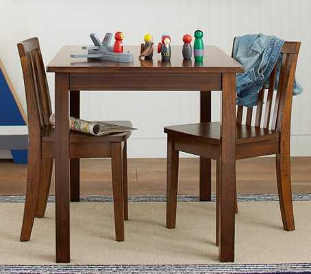 Carolina Small Table & 2 Chairs Set - Pottery Barn Kids