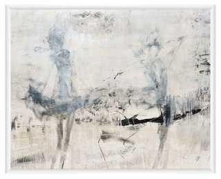 "Abstract Grays-20'5""x16'5""-Framed - AllModern"