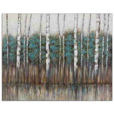Edge of the Forest Original Painting - Wayfair