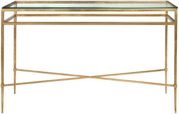 Baumgarten Console Table Gold - Tressle