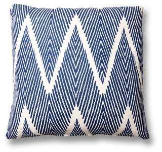 Nandi Cotton-Blend Pillow - One Kings Lane