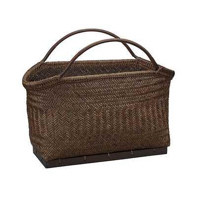 Pramana Magazine Basket - Crate and Barrel