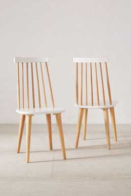 Lila Spindle Dining Chair Set of 2 - Urban Outfitters