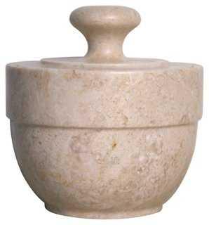 Classical Lidded Urn, Neutral - One Kings Lane