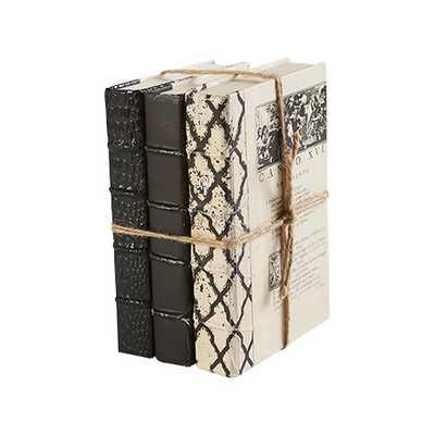 BLACK BOOKS (SET OF 3) - Arhaus
