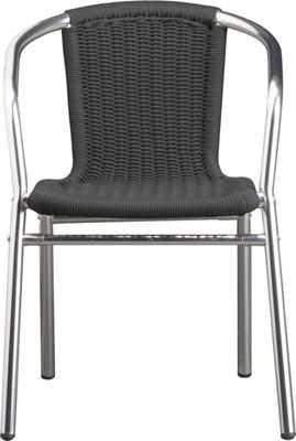 Rex grey chair - CB2
