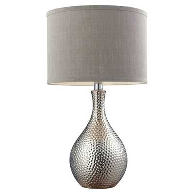 """Nicolette 21.5"""" H Table Lamp with Drum Shade - AllModern"""