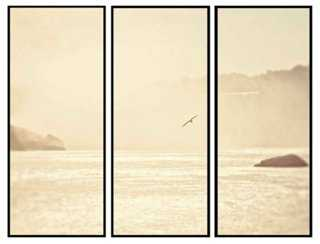 """Summertime on the Water Triptych  60"""" x 40"""" x 1.75""""/Framed - One Kings Lane"""