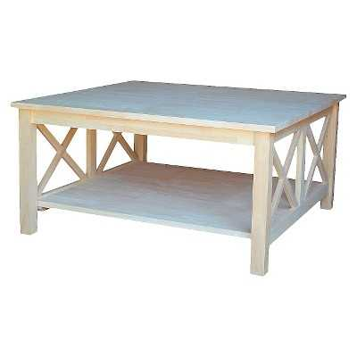 International Concepts Hampton Square Coffee Table - Target