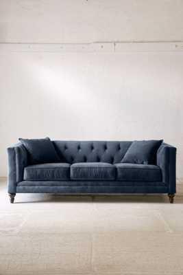 Graham Velvet Sofa - Urban Outfitters