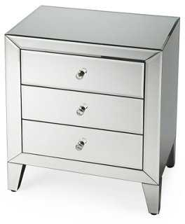 Gwidon Mirrored Nightstand - One Kings Lane