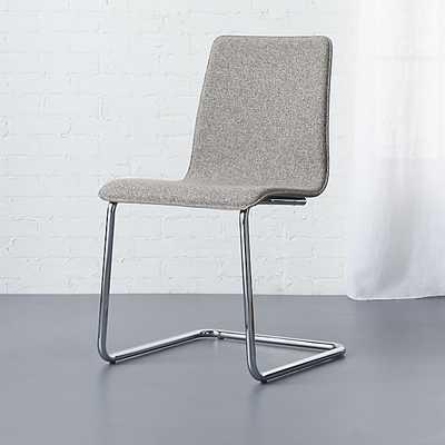 Pony tweed chair - CB2