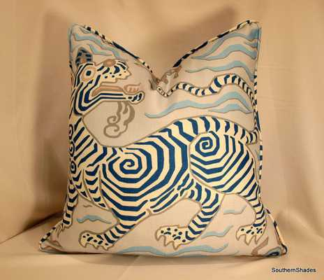 "One or Both Sides Pillow Cover with Self Cording - 20"" x 20"" - Etsy"