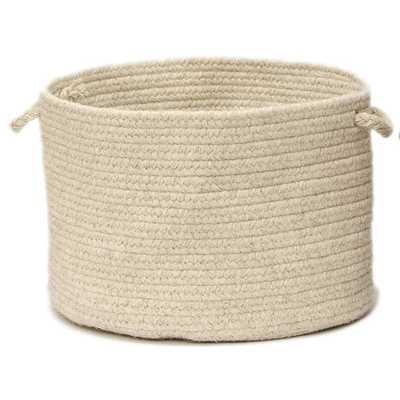 Shear Natural Utility Basket - AllModern
