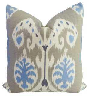 Exotic Cotton Pillow - One Kings Lane