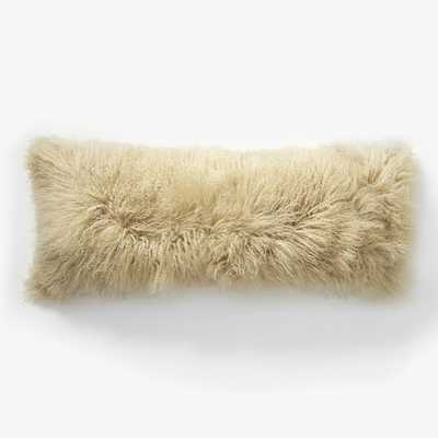 Mongolian Lamb Pillow Cover - West Elm