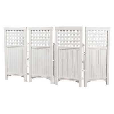 Suncast Outdoor Screen Enclosure - White - Target