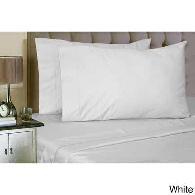 Luxury Sateen Cotton Blend 1000 Thread Count Deep Pocket Sheet Set - Queen - Overstock