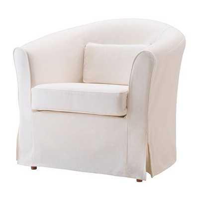 TULLSTA Chair, natural, Blekinge white - Ikea