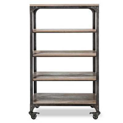 "Franklin 5 Shelf Bookcase - The Industrial Shopâ""¢ - Target"