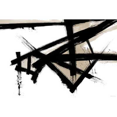 """""""Lines Of Life"""" Graphic Art on Canvas - Unframed - AllModern"""